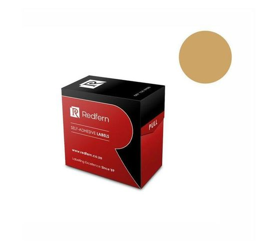 Redfern Self-Adhesive Colour Codes - C19 Gold