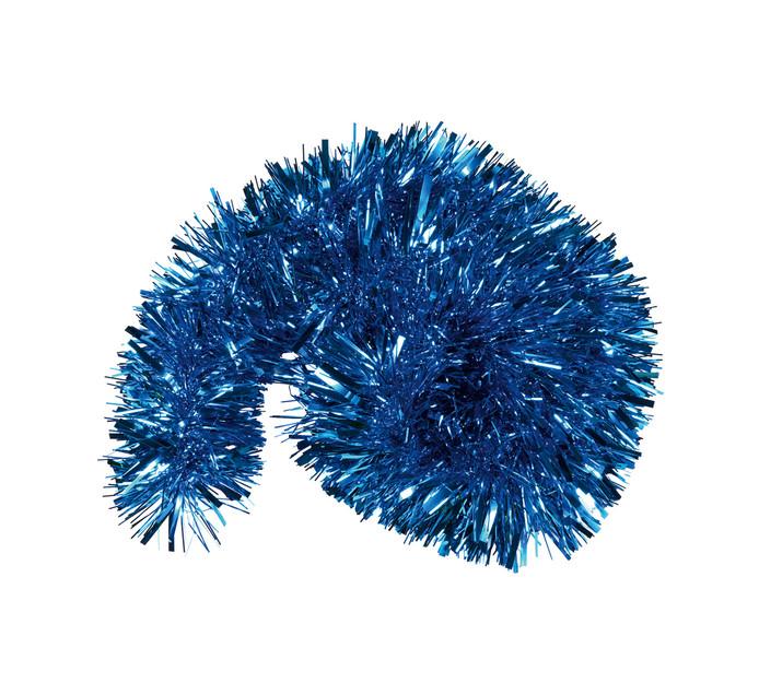 St Nicholas 2 m Blue Chunky Tinsel