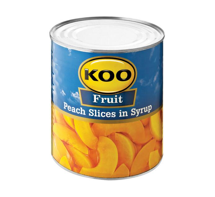 KOO Peaches Slices (1  x 3.06kg)