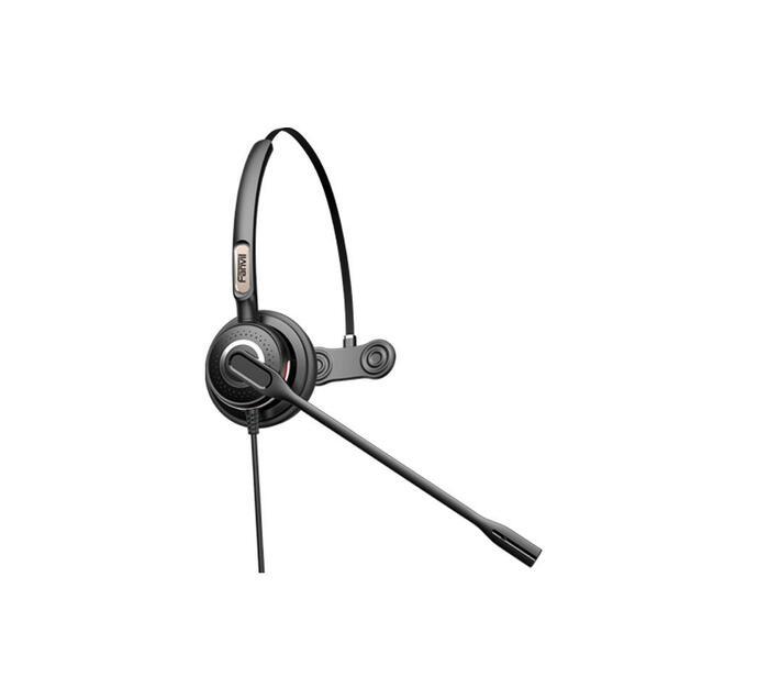 Fanvil RJ9 Monaural On-Ear headset with Mic | HT201