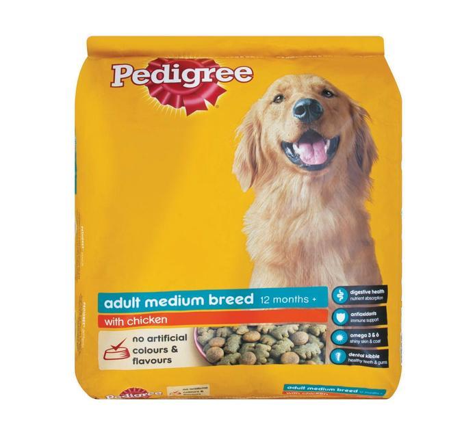 Pedigree Dry Dog Food Chicken (1 x 15kg)