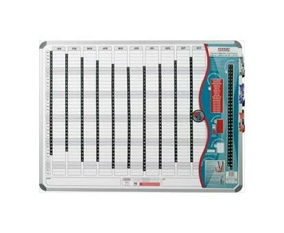 PARROT PRODUCTS Magnetic Year Planner (2400*1200mm)