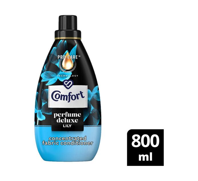 Comfort Perfume Deluxe Fabric Conditioner Luxury Lily (12 x 800ml)