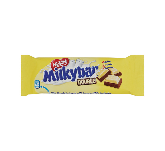 Nestle Slab Milkybar Double (1 x 80g)