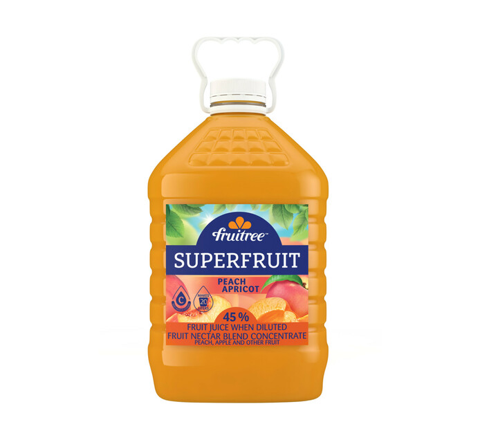 Fruitree Superfruit Peach Apricot (1 x 4L)