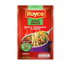 Royco Quick Snack Beef And Vegetable (1 x 38g)