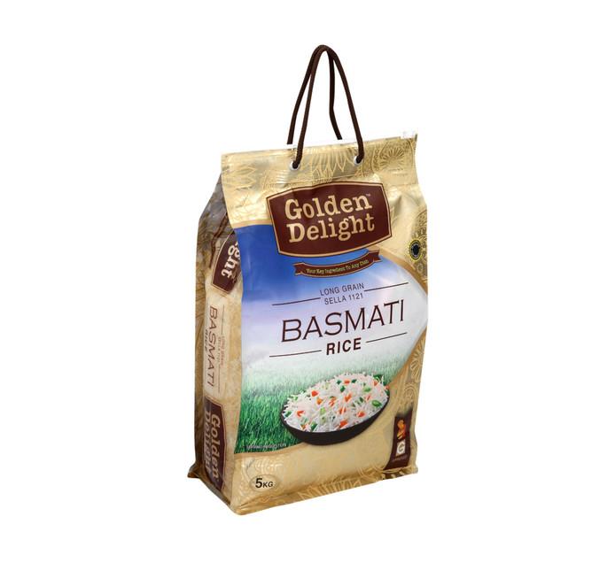 Golden Delight Basmati Rice (1 x 5kg)