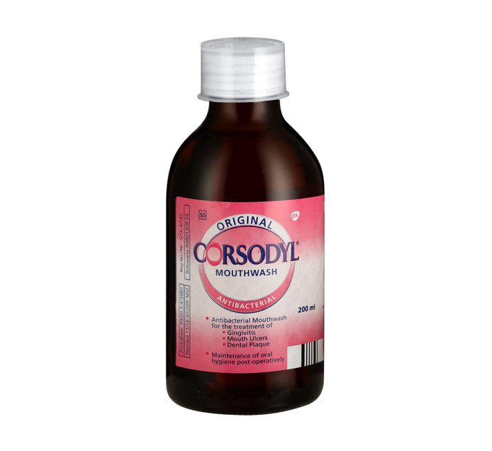 Corsodyl Mouthwash Original (1 x 200ML)