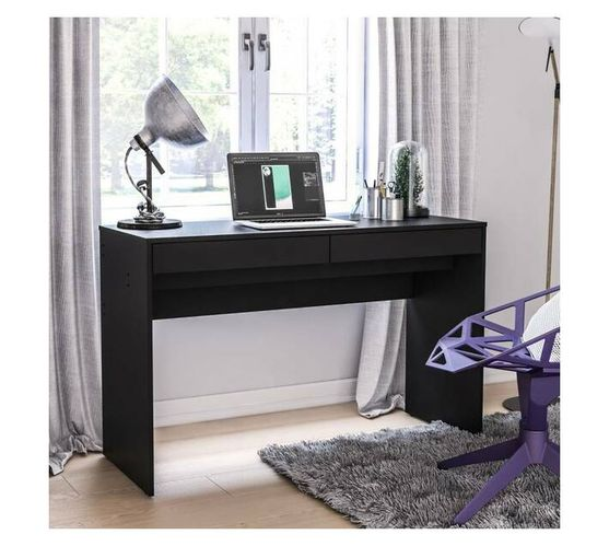 Iris Black Desk