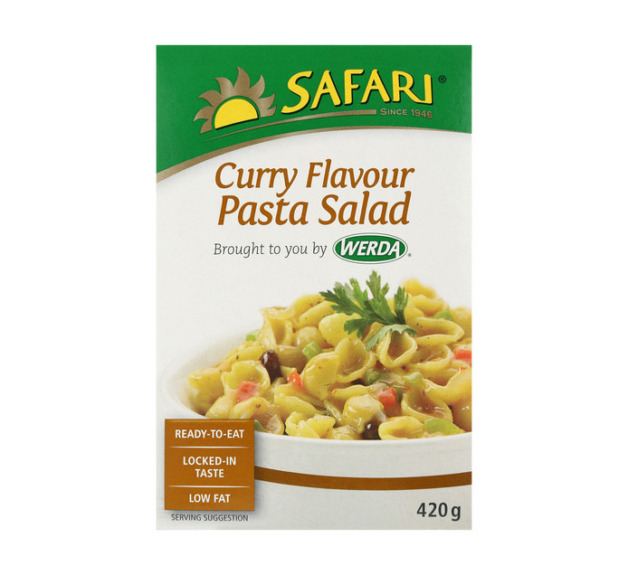 SAFARI Salad Pasta Curry (1  x 420g)