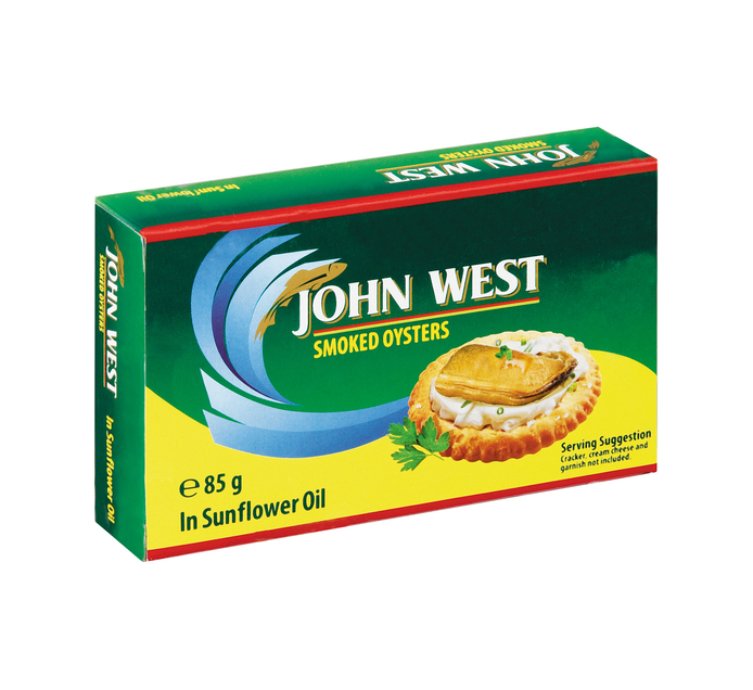 John West Oysters Smoked Oil (1  x 85g)
