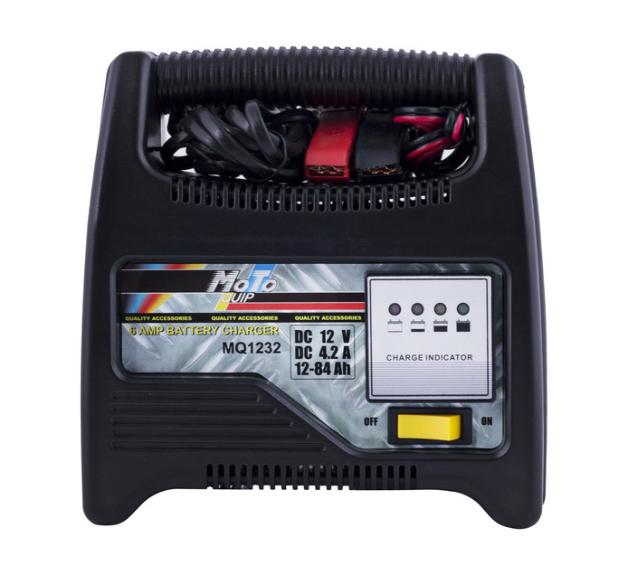 MOTO-QUIP 6 Amp Battery Charger