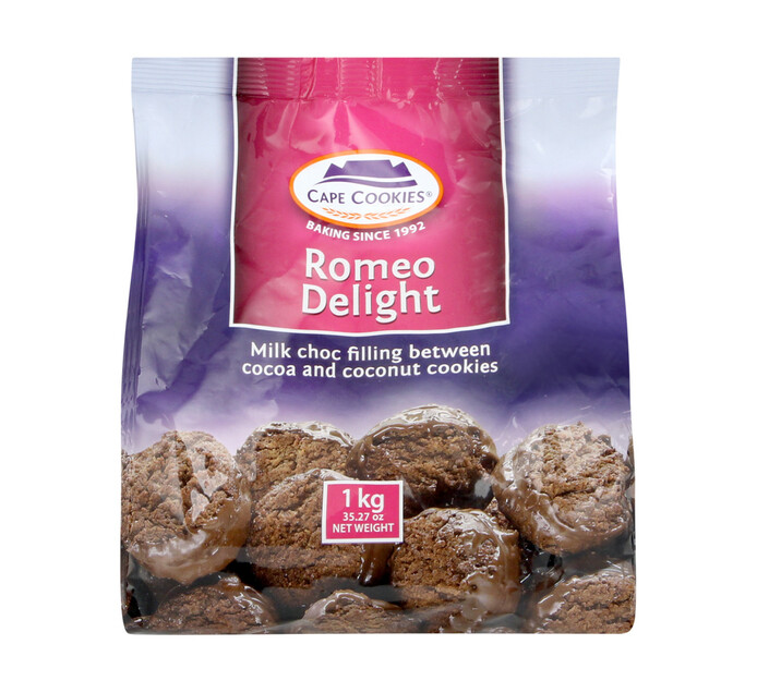 Cape Cookies Biscuits Romeo Delight (1  x  1kg)