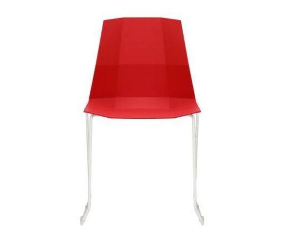 GOF Furniture - Brainium Plastic Chair - Red
