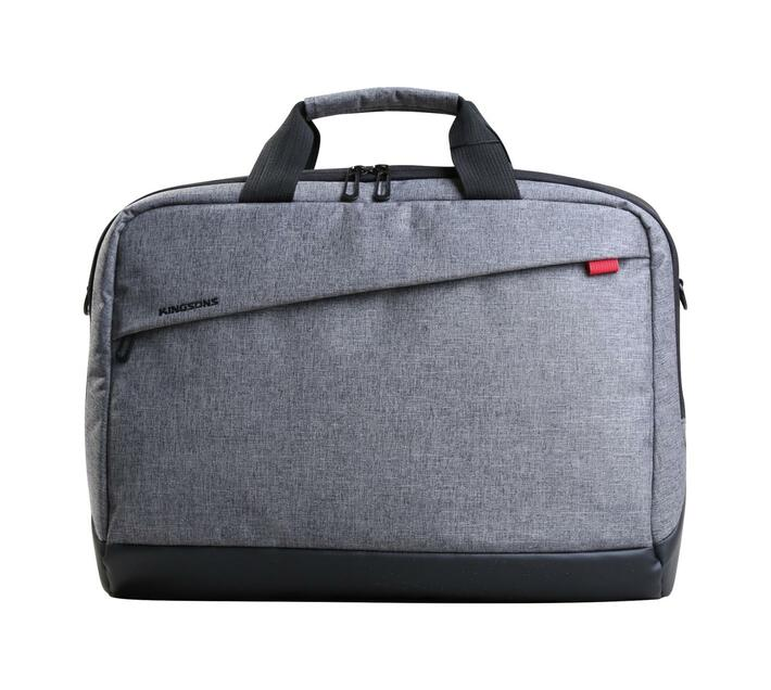 "Kingsons Trendy Series 15.6"" Shoulder Bag - Grey"