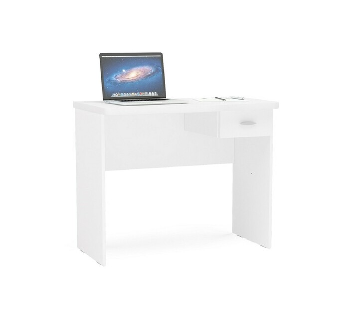 Resende White Office Table