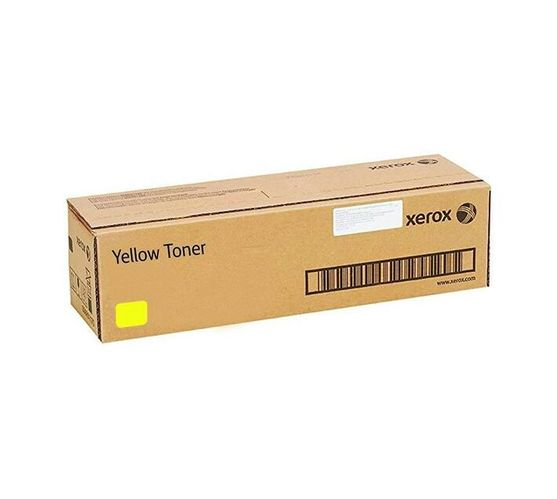 Xerox Yellow Original Toner Cartridge for WorkCentre 7500 DMO