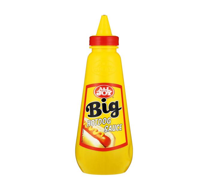 All Joy Big Squeeze Hot Dog Sauce (1 x 500ml)