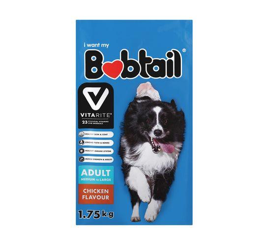 Bobtail Dry Dog Food Large Chicken (1 x 1.75kg)