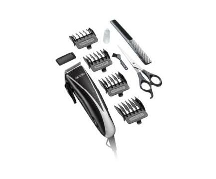Andis Ultra Clip Adjustable Blade 10-Piece Home Haircut Kit