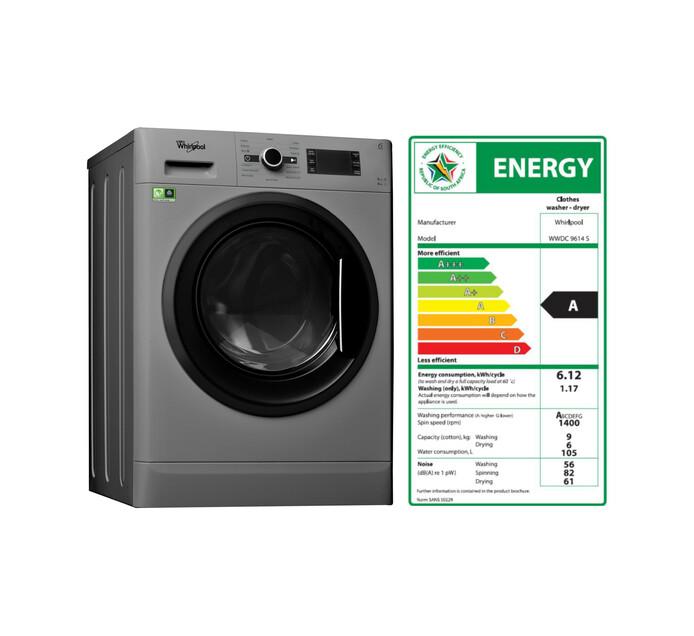 WHIRLPOOL 9 kg/6 kg Washer/Dryer Combo