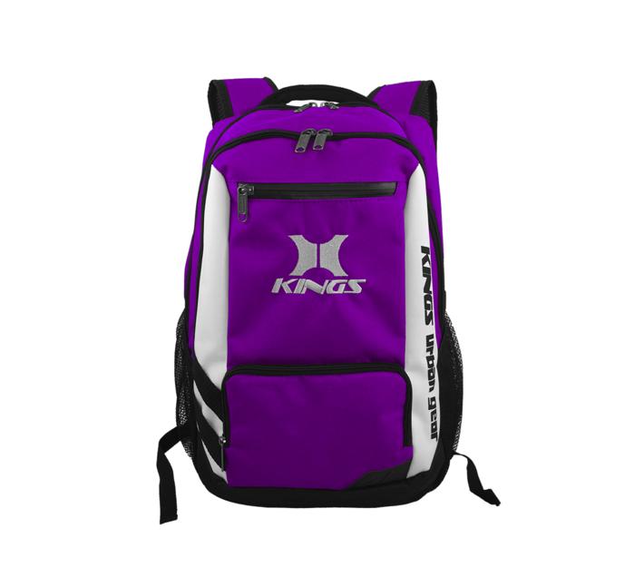 Kings Urban Gear Clean Cut 3 Toned Backpack - Purple 2640