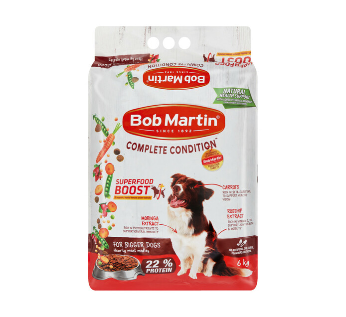 Bob Martin Dog Food Adult Hearty Meat Medley (1 x 6kg)