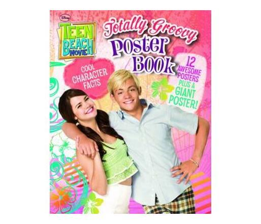 Disney Teen Beach Movie Poster Book