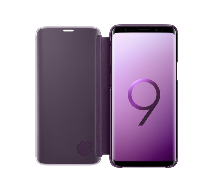 SAMSUNG GALAXY S9 CLEAR VIEW STANDING COVER VIOLET