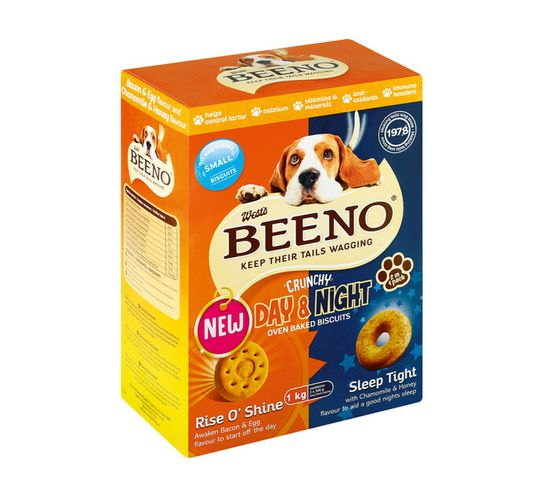 Beeno Dog Biscuits Small Bacon (12 x 1kg)