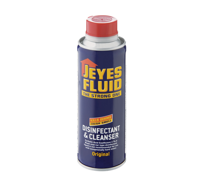 JEYES Fluid Disinfectant And Cleanser And Cleanser (6 x 500ml)