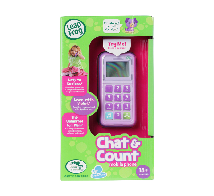 LEAPFROG Chat & Count Cellphone
