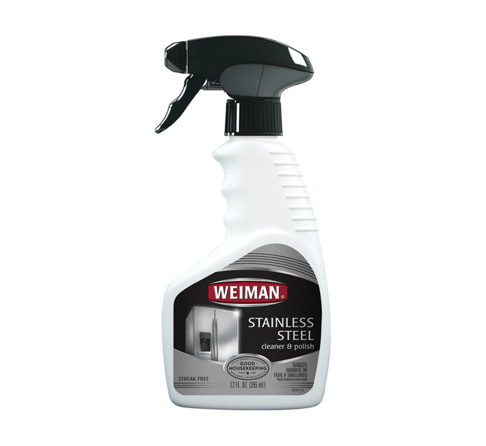 Weiman Stainless Steel Cleaner/Polish (1 x 450ml)