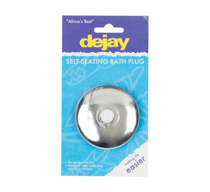 Dejay Chrome Self Seating Bath Plug