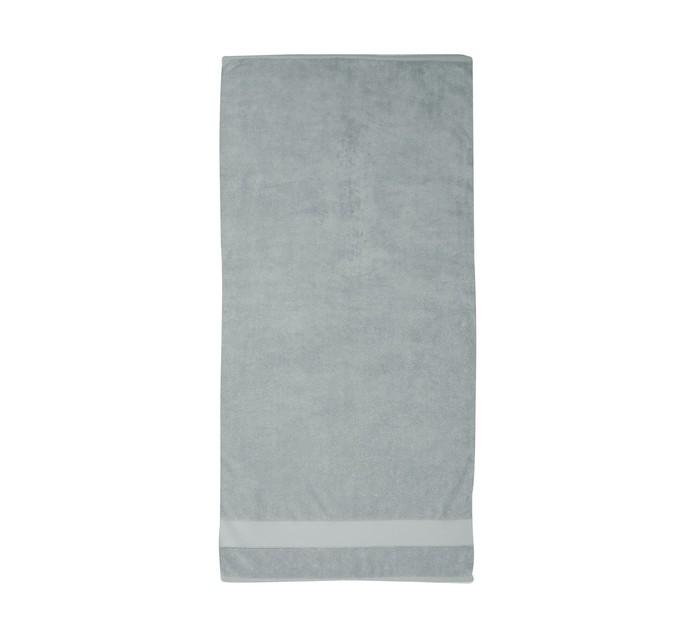 Colibri Zero Twist Bath Sheet Silver