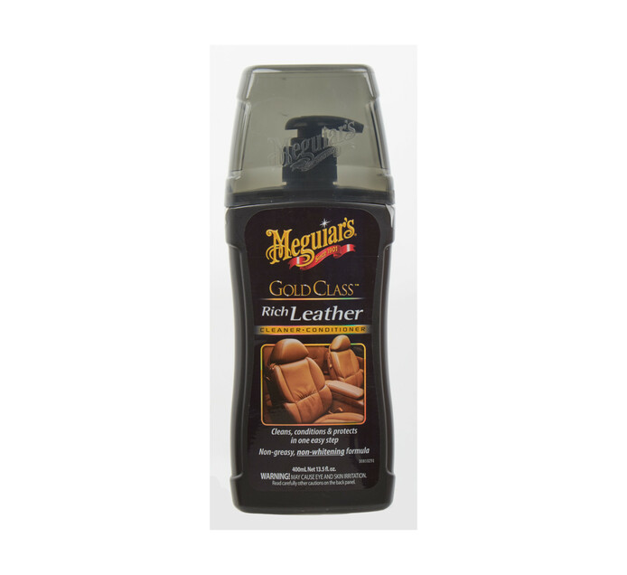 Meguiars 400 ml Gold Class Leather Cleaner and Conditioner