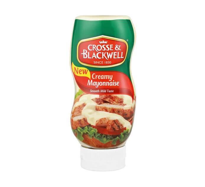 Crosse & Blackwell Creamy Mayonnaise Squeeze Squeeze (1 x 500ml)
