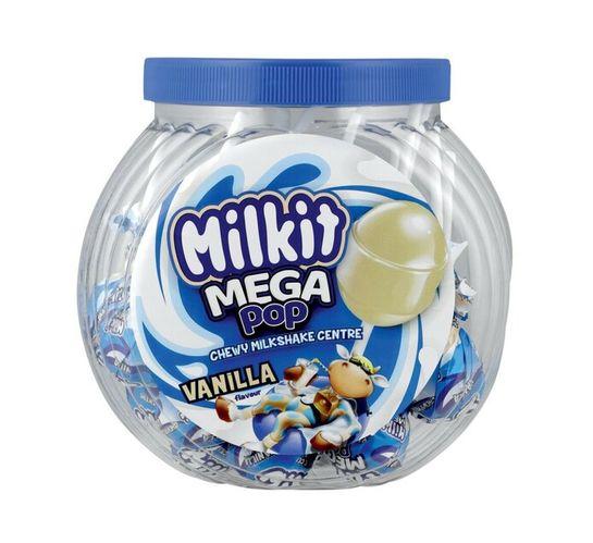 Milkit Mega Lollipop Jar Vanilla (24's)