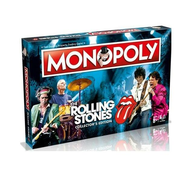 Monopoly Board Game - The Rolling Stones