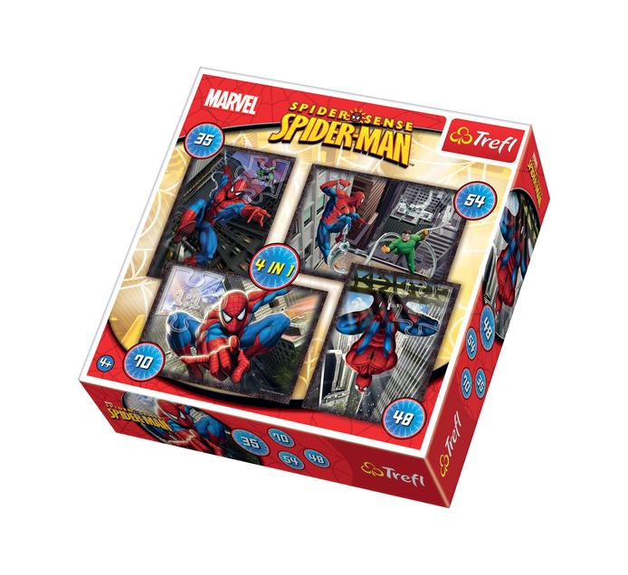 Trefl 4-in-1 Spiderman Puzzle