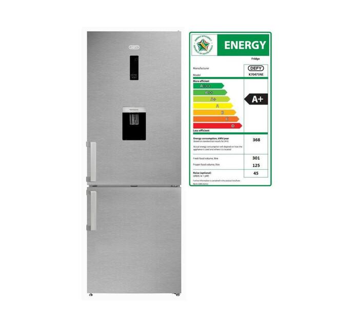 Defy 426 l Combi Fridge/Freezer with Water Dispenser