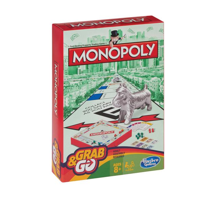 Monopoly Grab & Go Game