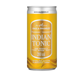 HALL & BRAMLEY Tonic Water (6 x 200ml)