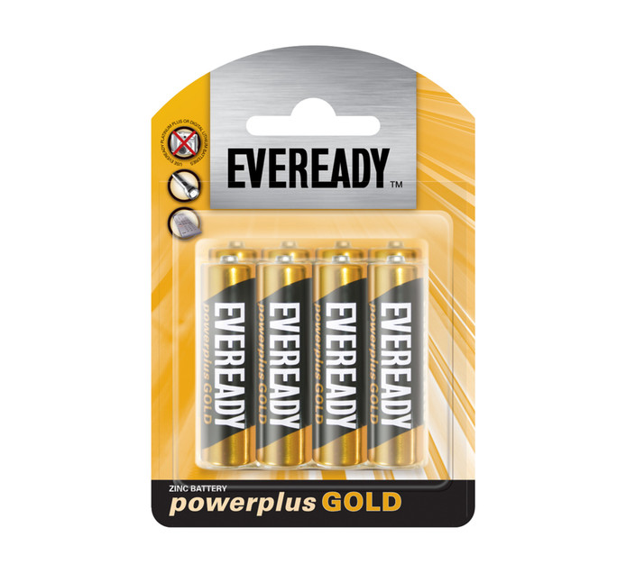 Eveready Power Plus Gold AA  8-Pack