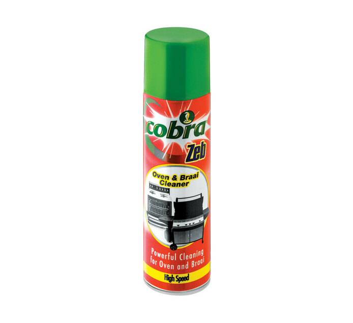 Cobra Zeb Oven Cleaner High Speed (1 x 275ml)