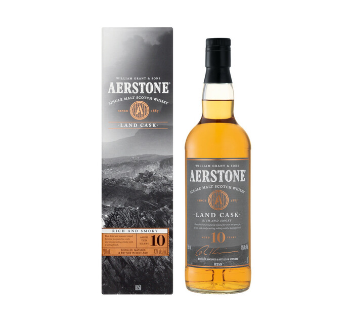 Aerstone Land Cask Single Malt Whisky (1 x 750ml)