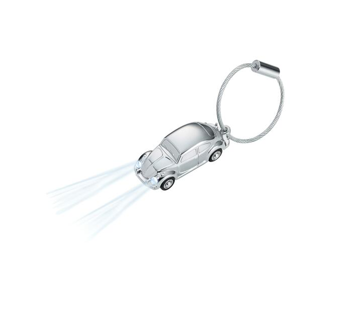 Troika Keyring with White LED light Light Beetle 1964