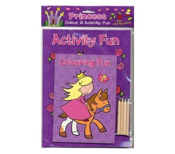 Princess Colour & Activity Fun (Colour & Activity Fun Packs)