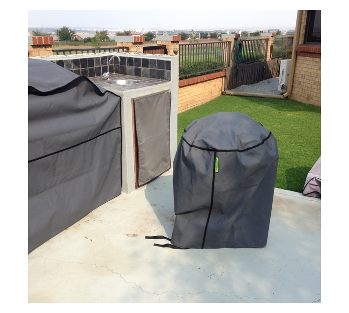 Patio Solution CoversWeber Braai Cover - Dove Grey Ripstop UV 260grm
