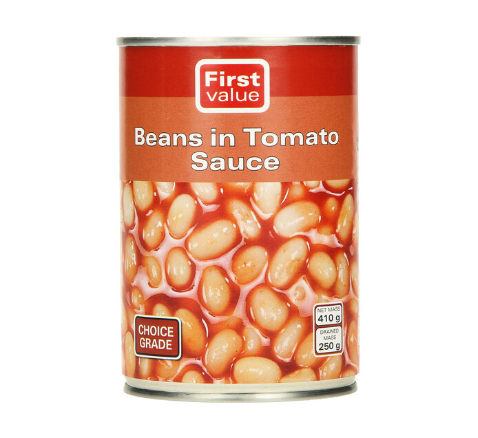 First Value Beans in Tomato Sauce (1  x 410g)